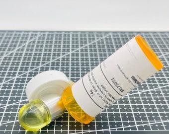 Chill Pill Mix & Match - Yellow Acrylic