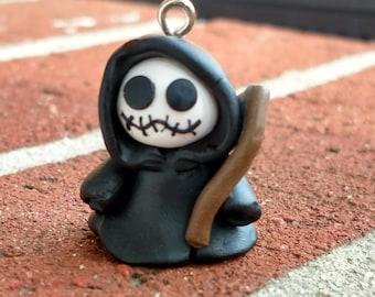 Polymer clay Grim Reaper