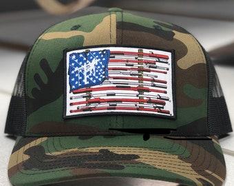 e5e59b19 FriedSquirrelHatCo American Flag Lineman Camo