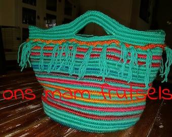 Crochet Tas Etsy