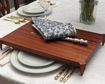 Challah Board | Federal: Raised Board Collection