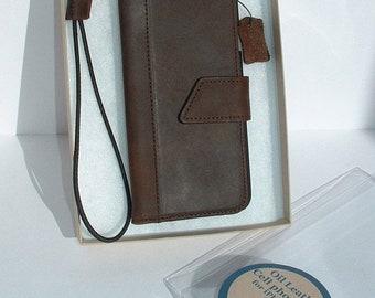 ON SALE iPhone 6 iPhone 6S iPhone 7 iPhone 7 Plus Luxury italian vintage Oil Leather Case Wallet by Ben Katz - Phone Case iPhone Handmade