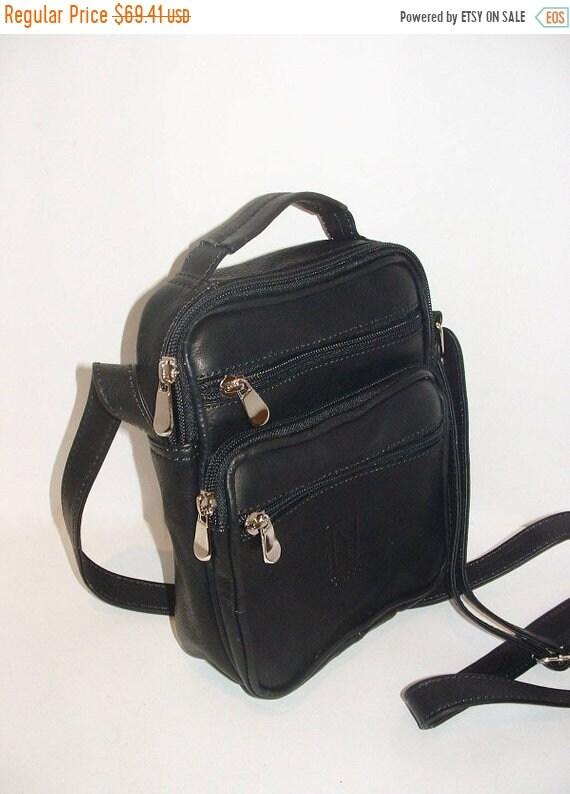 364efa675b01 ON SALE Small Genuine Leather Crossbody Bag Unisex Small