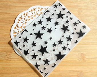 Star Embossing Folder for Scrapbook and Card Making