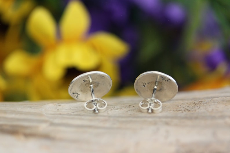 Native American Sterling Silver Kokopelli Earrings By Stanley Bain