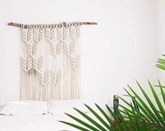Large Modern Macrame Wall Hanging | Giant Macrame Headboard | Macrame Wedding Backdrop | Giant Macrame | Boho Decor | Jungalow Style Macrame
