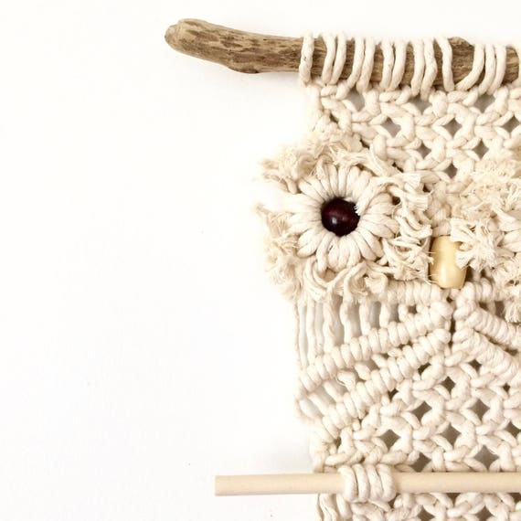 Large Macrame Owl Wall Hanging Tutorial Download For Beginners