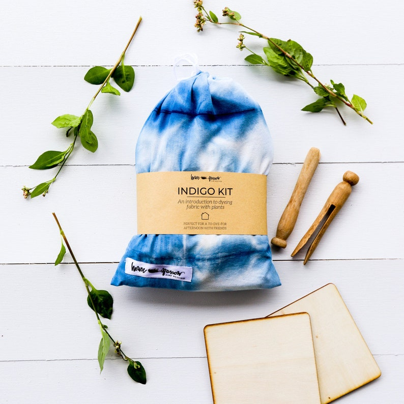 Indigo Kit for Shibori Tie Dyeing  Indigo Dye Kit for image 0