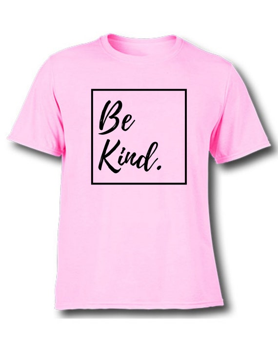 Be Kind Fancy Heart Matching Tshirt Set  Pink shirt day  Anti-bullying  Be kind  Mommy and me