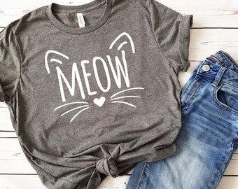 91abc00939d Cat lover tee shirt