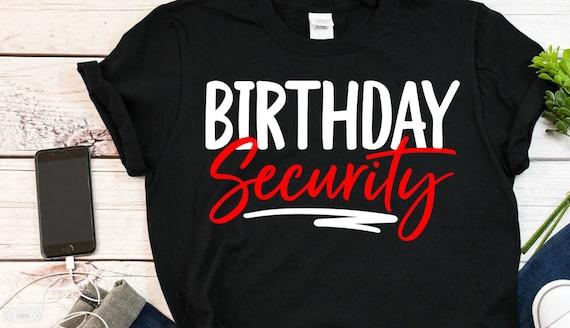 Birthday group shirts nashville vegas party shirts women birthday shirts Birthday security group birthday shirts 50 th birthday shirt