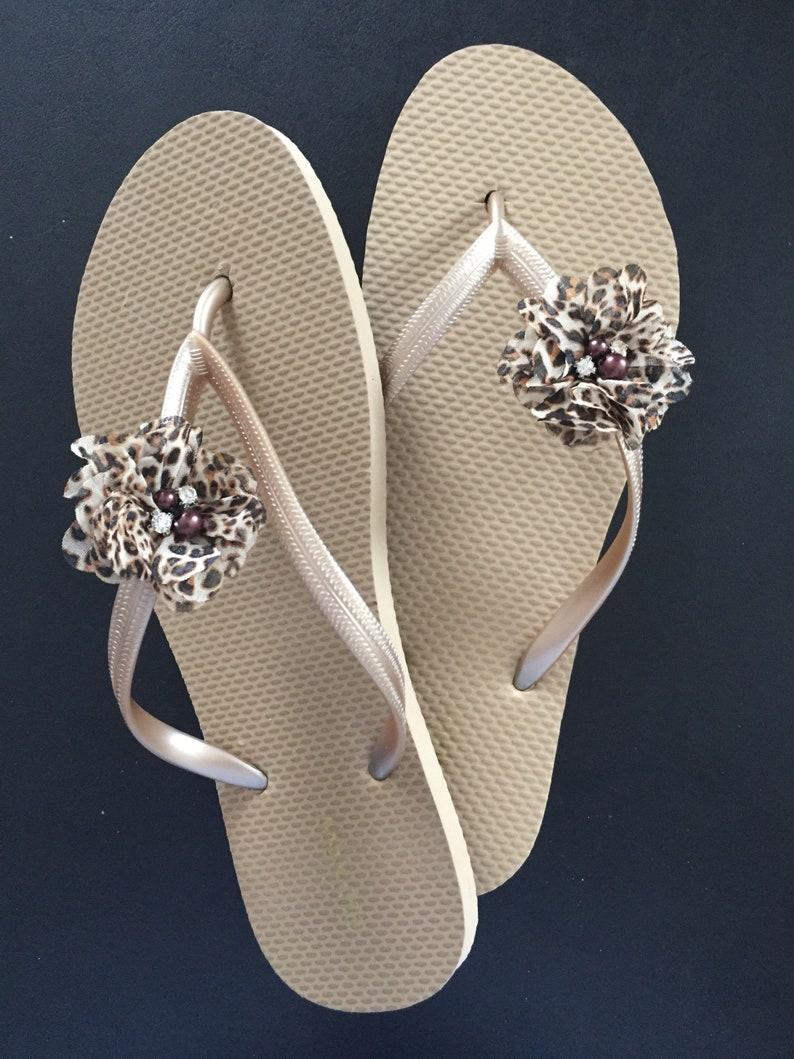41dfcdd8a2207 Sandals Leopard gold bridesmaid beach wedding bridal