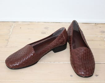 35c80fca8a8fa1 Brown Size 7 1 2 Loafers - Cute
