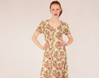 0a307aa2e1 Floral 90s Dress - Algo