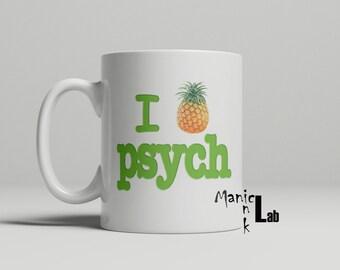 I Pineapple Psych TV show Mug