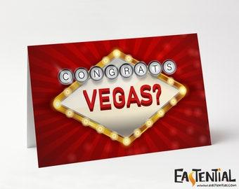 Congrats, Vegas?