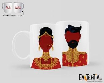 The Couple Wore Red Mug Set