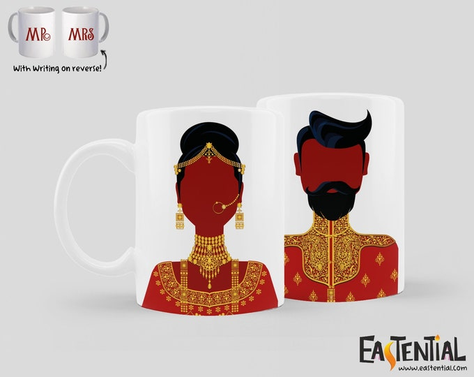 Featured listing image: The Couple Wore Red Mug Set