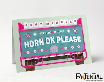 Horn Ok Please - Just Married
