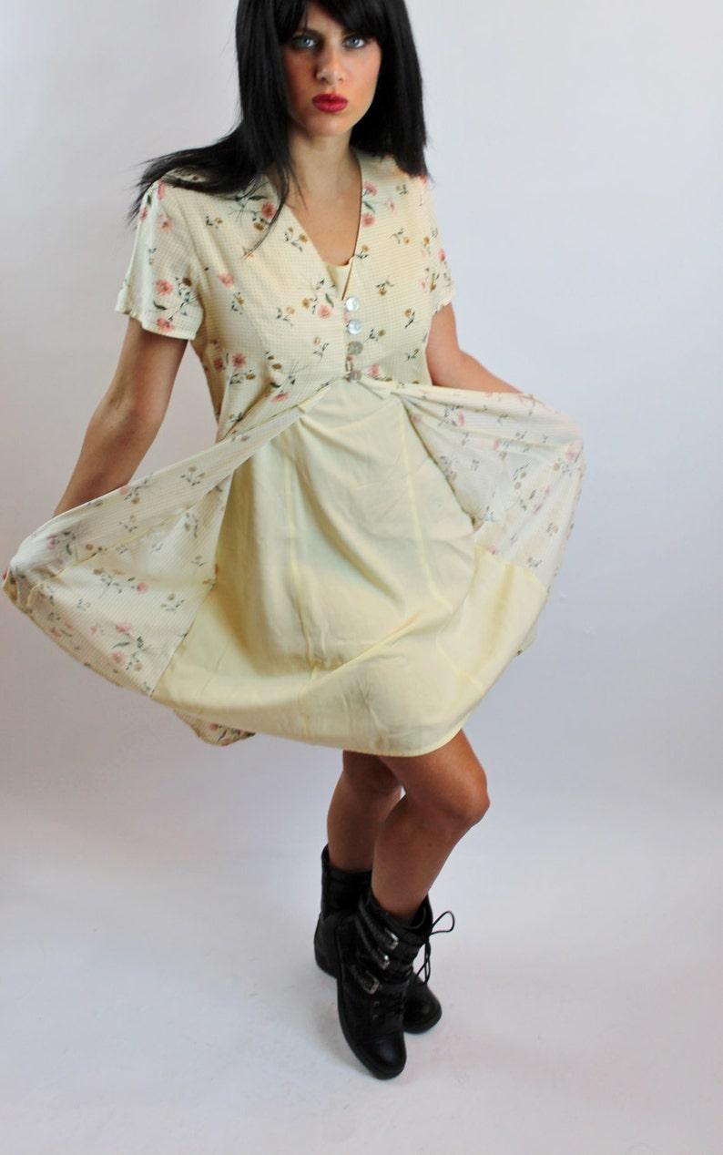 Size 6-8 90/'s Unique Dress By Boutique Europa