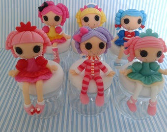 Lalaloopsy glass container