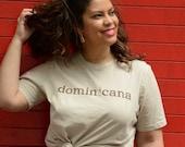 Tan Dominicana T-Shirt...