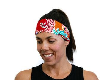 wide headband fitness headband running headband yoga hair band workout headband hair accessories crossfit headband spandex head wrap