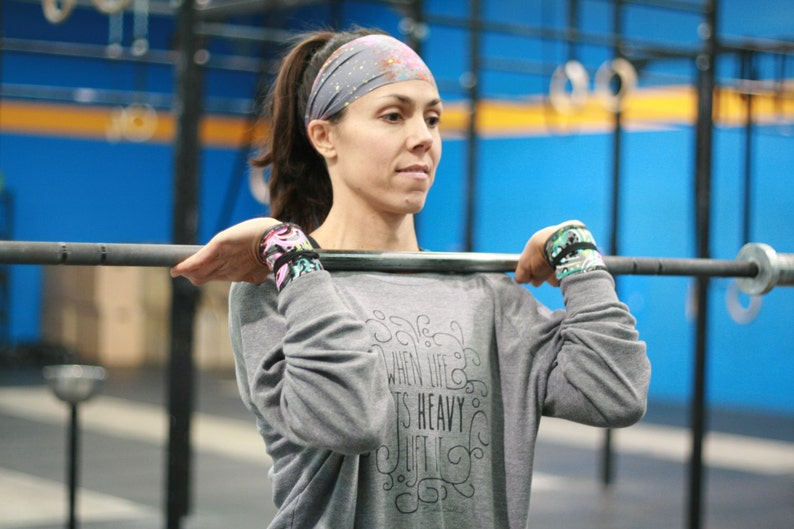 fitness headband workout headband hair accessories no slip headband exercise apparel wide headband spandex headband yoga gear amwraps