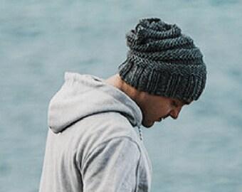 14c0437676f Mens knit hat