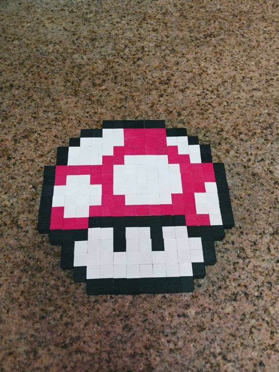 Super Mario World Snes Pixel Champignon