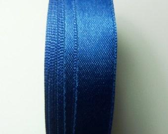 30 meters Satin ribbon 13mm dark blue