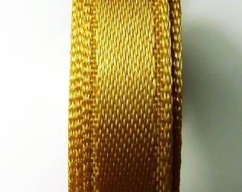 5 m gold 0.66 b 6 mm satin ribbon