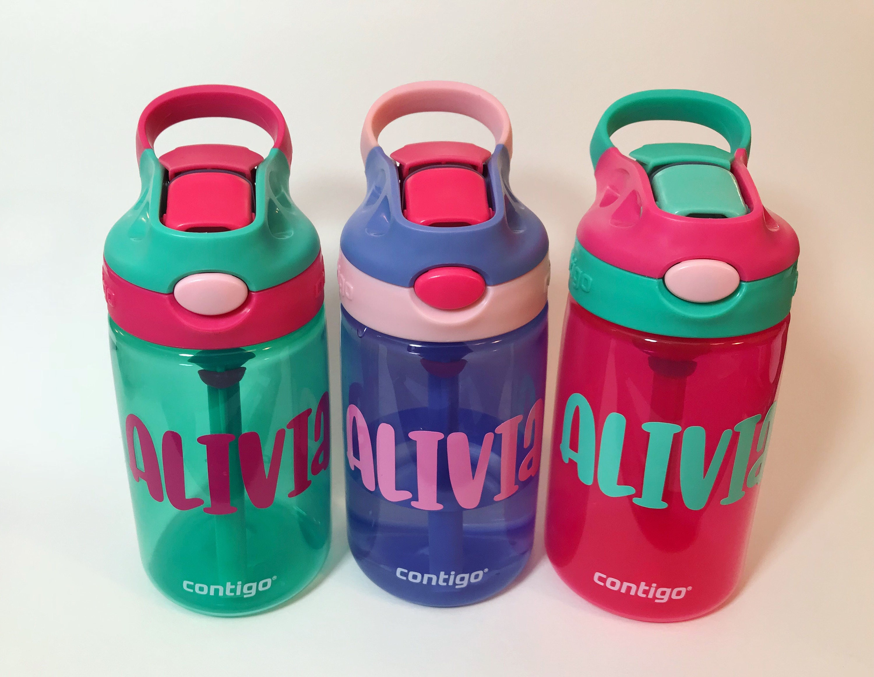 Personalized Sippy Cup Name Decal Completely Customizable