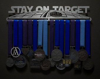 This Is The Way Star Wars Sports Race Medal Display Rack Holder Hanger Organizer