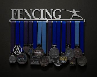 Fencing - Allied Medal Hanger Holder Display Rack
