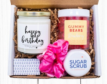 Happy Birthday Gift Box, Custom Birthday Gift Box, Gift Ideas, Happy Birthday Gift Box, Happy Birthday Gift Basket, Birthday Gift Ideas