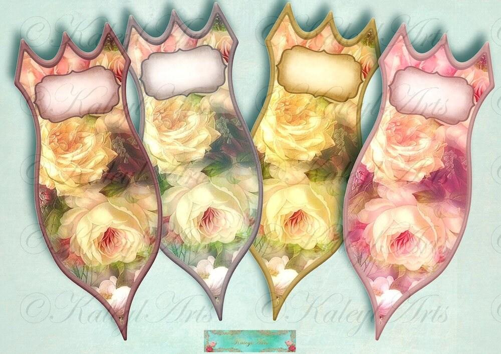 rosen steckschilder pflanzschilder garten blumen kr uter etsy. Black Bedroom Furniture Sets. Home Design Ideas