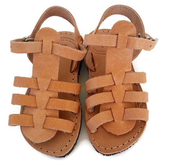 Gladiator Kids Sandals, handmade Greek Children Sandals, Girl Straps Sandals Kids sandals, leather sandals for kids,traditional gladiator