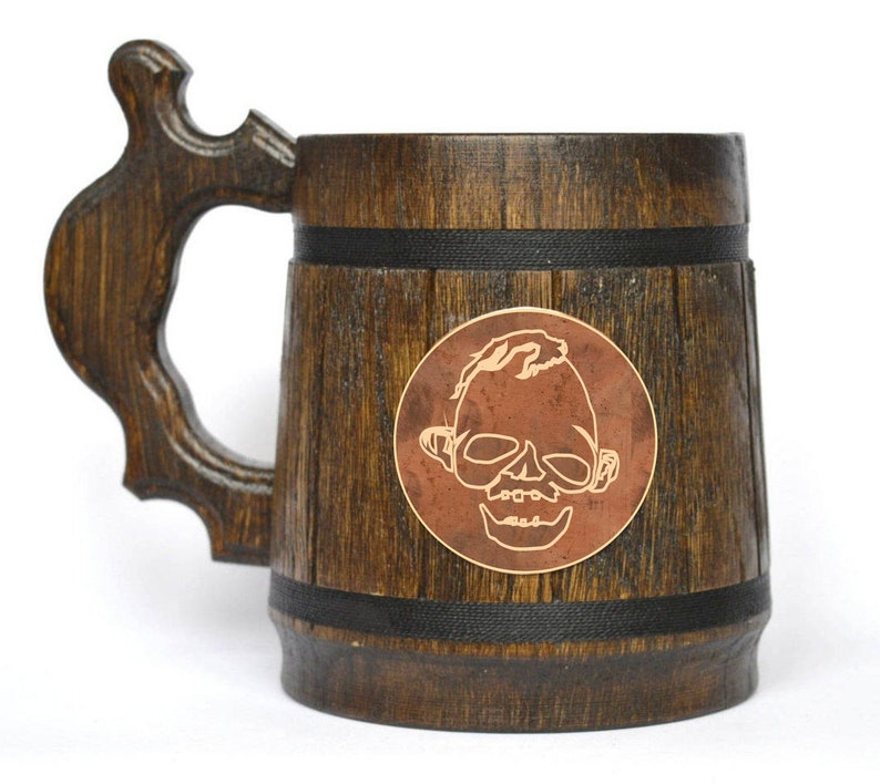 The Goonies High quality handmade barrel beer tankard