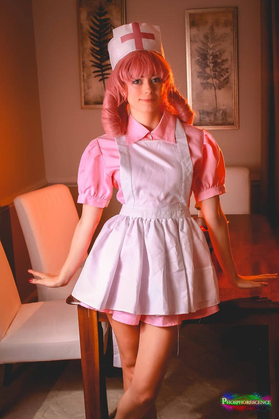 Pre-owned Nurse Joy Pokemon Center Cosplay Costume Size: