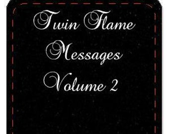PRE-ORDER ONLY Friday October 4th Shipment  - (No Instruction booklet) Twin Flame Messages Oracle Volume 2 by Mystic Moon