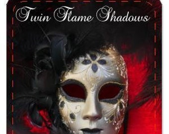 PRE-ORDER ONLY - Friday October 4th -Shipment (No Instruction booklet) Twin Flame Shadows Oracle Deck (Price includes shipping)