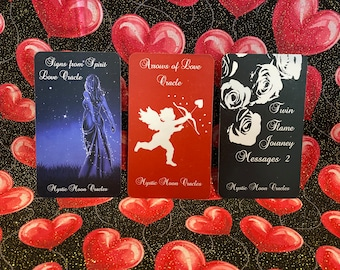 Messages of Love 3 Deck Trio - Pre-Order Only (Ships 4/24/21) FREE SHIPPING