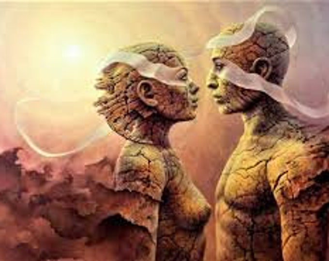 Featured listing image: Twin Flame Connection 30 min Pre-Recorded Video Reading