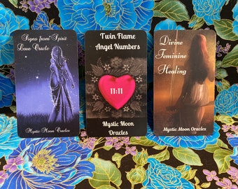 Divine Feminine Healing 3 Deck Trio - Pre-Order Only (Ships 4/24/21) FREE SHIPPING
