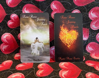 Twin Flame Journey 2 Deck Duo - Pre-Order Only - Ships 4/24/21 FREE SHIPPING