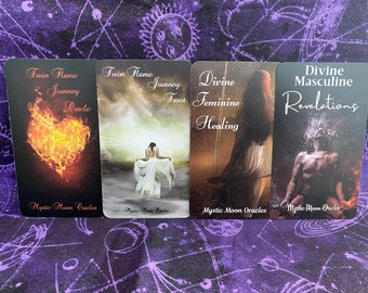 Twin Flame Journey 4 Pack Set - Ships 7/31/21 - FREE SHIPPING