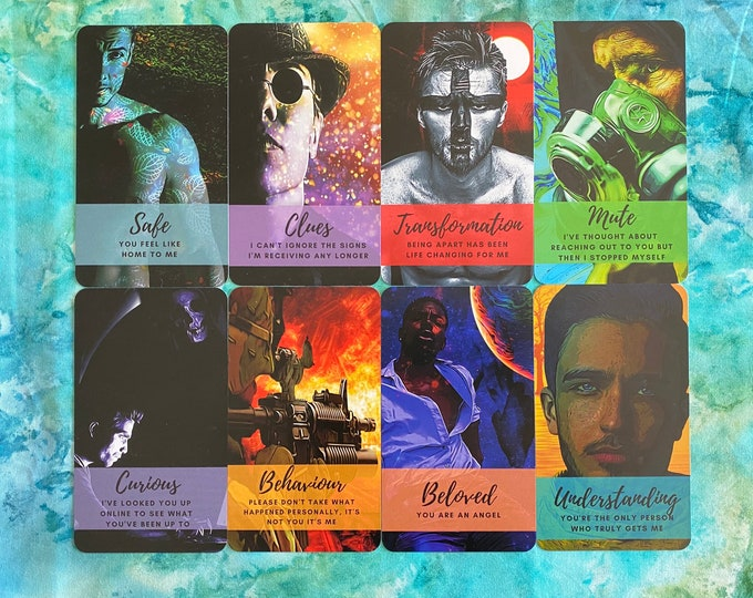 Divine Masculine Revelations Oracle (Read Disclaimer below) - 54 Card Deck - Ships 10/30/21 FREE SHIPPING