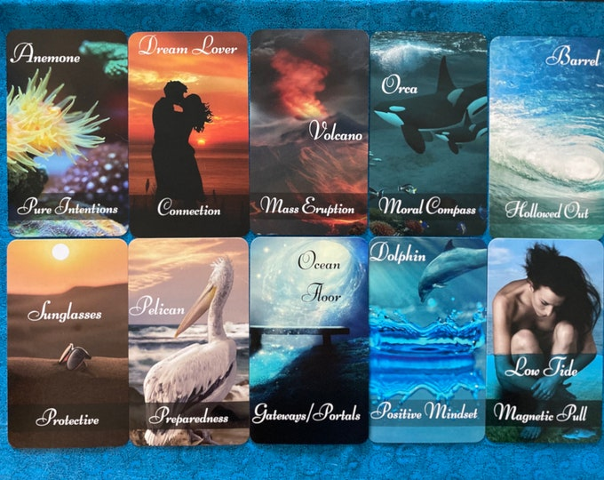 Depths of the Sea Oracle by Mystic Moon - Ships Saturday Oct 30th - (No Instruction booklet or PDF Included) FREE SHIPPING