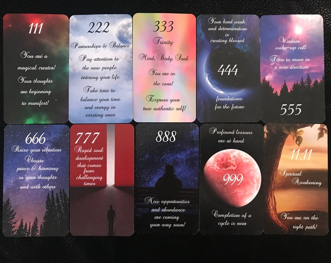 Signs from Spirit Love Oracle by Mystic Moon - Ships Saturday Oct 30th - (No Instruction booklet or PDF Included) FREE SHIPPING